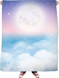 ROFB Sleep In The Clouds Fleece Blanket $65.00
