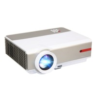 Rigal RD808 LCD Projector 1024X768 1080P HD 3500 Lumens LED Projector 3D Beamer bluetooth WIFI Android System HDMI VGA USB TV Video Projector Upgraded Version
