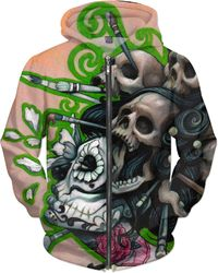 Art And Death Hoodie $89.00