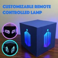 This is a terrific lamp that will surely compliment any room. This awesome lamp can change color with the aid of its remote control. Also the remote can adjust