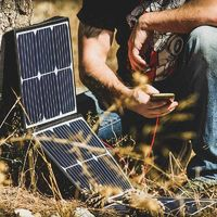 60W Foldable Solar Panel Charger