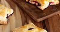 Spice up this year's 4th of July pie with these star-shaped hand pies! Easy to make (and eat) this treat will have your guests thanking their lucky stars.