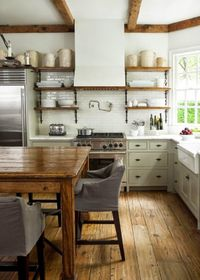 Green Kitchen Cabinets | Centsational Girl