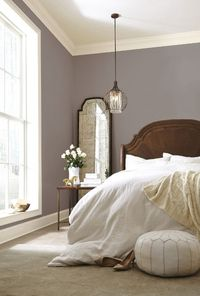 Looking for paint inspiration for your next paint project? See how Poised Taupe - Sherwin Williams new color of the year 2017 looks in real rooms!