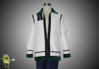 One Piece Cosplay Costume Captain Smoker Jacket