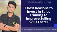 Share on Tumblr The first question when considering Sales Training is about the need for it. Management of any company has to balance priorities and distribute budgets for the organization's needs and requirements. So let us first attempt to underst...
