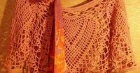 Crochet Shawls: Crochet Lace Poncho Pattern - Gorgeous Lace