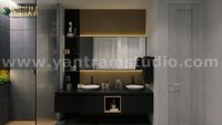 Dark stylist inspiration bathroom 3d interior rendering Ideas by Architectural Visualisation Studio.jpg