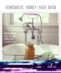Homemade honey hair masks: perfect for soothing scalps and getting shiny hair