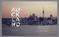 Today: an unique city guide editorial for Auckland, awarded at annual SPD Student Design Competition City guides usually suffer from overcrowded spreads or non