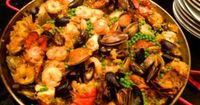 Don't let the list of ingredients scare you. You can add and subtract. Don't like mussels---no problem, leave them out. Just add your favorite ingredients. Just make sure you invite a lot of friends over to enjoy it.