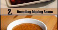 not really authentic but they are good. 5 Lip-Smacking Recipes For Chinese Sauces - including dumpling sauce and plum sauce