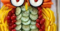 Great veggie tray for shower!