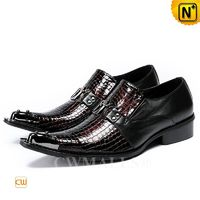 CWMALLS® Boston Men Leather Dress Shoes CW708202[Personalized Gift, Global Free Shipping]