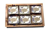 6 Bar Natural Soap Gift Set For Christmas or Just A Simple Thank You $12.95