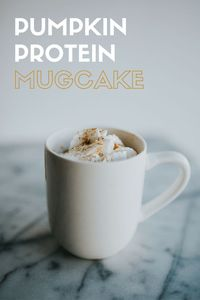 Pumpkin Protein Mug Cake |Protein Recipes| 1.Mix all ingredients in a microwave safe mug. 2.Microwave for about 2 minutes. 3.Top with whipped cream and cinnamon and enjoy! Ingredients 1/4 c pumpkin puree 2 tbsp. egg whites 1/8 c unsweetened almond milk 1 ...
