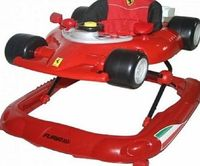Nania Ferrari Walker Red Nania Ferrari Walker is an innovative and sporty baby walker designed to create fun and excitement for you little one as well as helping them to walk and exercise. The seat has 3 height positions with http://www.comparestoreprices...