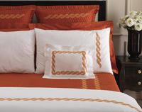 Monica Embroidery Bedding by Dea Linens $398.00