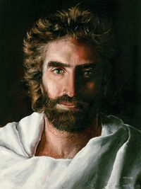 """Prince of Peace"" divinely-inspired painting by Akiane Kramarik (Age 8)"