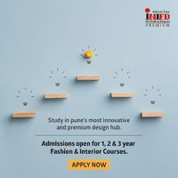 INIFD Kothrud bridges the gap between education and current trends in design, we push our students to now learn better than best and stay ahead of crowd with contemporary knowledges and skills. Apply Now - https://www.inifdpune.co.in/inifd-fashion-desigi...
