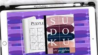 Sudoku Book with 120 Puzzles | Interactive | For Digital Use - Goodnotes 5 | Noteshelf | Zoomnotes | Notability |PDF $9.74