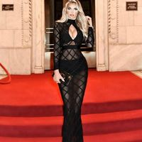 2017 new perspective cross hollow night club sexy bandage dress with mesh sexy dress H1897 - Bonny YZOZO Boutique Store