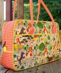 Diaper Bag Tutorial & Pattern Roundup - Andrea's Notebook