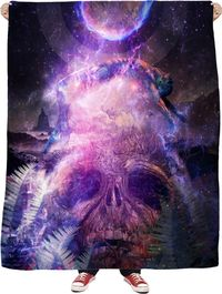 Resurrection - Fleece Blanket $65.00