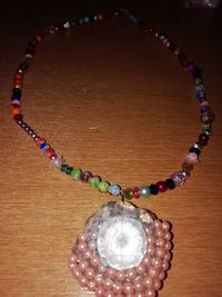 Beaded crystal necklace £5.00