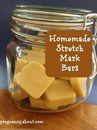You can work to minimize stretch marks with this homemade recipe. From pregnancy.about.com