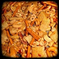 Recipe for Nuts and Bolts aka: Chex Party Mix