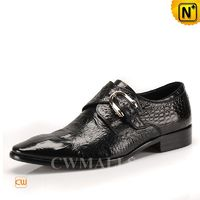 CWMALLS Leather Monk Strap Loafers CW716207