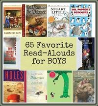 65 Favorite Read-Aloud Books for Boys