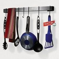 Utensil Bar Pot Rack, for apartment kitchen