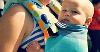 Super awesome post explaining all the different kinds of baby carriers. #mamandbabylove #babywearing #babycarrier