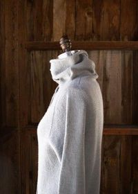 Top-Down Turtleneck Cardigan | The Purl Bee