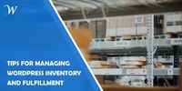 Having an e-commerce can be a lucrative business. Still, handling inventory and fulfillment is not simple. Here are some tools to ease those struggles.