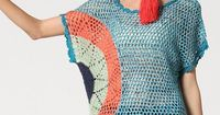 crocheted top - inspiration