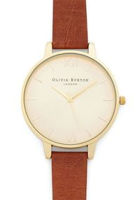 Olivia Burton Time Floats By Watch in Gold/Chestnut - Grande | Mod Retro Vintage Watches | ModCloth.com