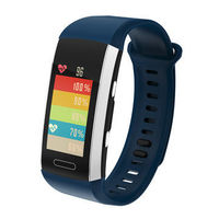 Bakeey H1 GPS Air Pressure Temperature Altitude Display HR Brightness Call Message Tips Smart Watch