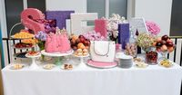 Stella McCartney Tea Party at her Soho Manhattan Store Featuring Two Purse Cakes by Sweet Grace, Cake Designs
