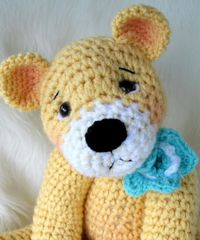 Favorite Teddy Bear ... by Crews | Crocheting Pattern