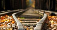 perspective - always loved to take these down on the train tracks in Photography...This is a cool photo