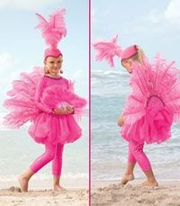 pink flamingo costume / halloween time! - Juxtapost