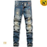 CWMALLS Mens Ripped Skinny Jeans CW106136