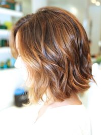 There are a lot of different kinds of short bob. Blunt bob creates a more formal look and it works better on thick hair. Choppy layered bobs are wonderful looki