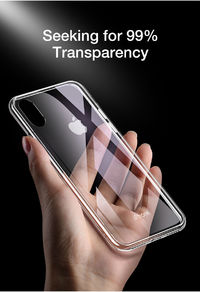Bakeey Protective Case for iPhone XS Max 6D Clear Tempered Glass Soft TPU Edge Back Cover