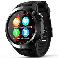 LOKMAT M4 2G GPS IP67 Waterproof Smart Watch Phone 1.3in Touch Screen Music Player HR BP Monitor Multiple Languages Stopwatch Sports Fitness Bracelet