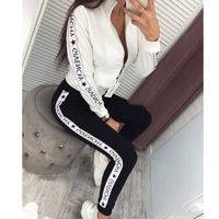 $20.70 Aliexpress - Autumn Winter 2 Piece Set Women Hoodie Pants Printed Tracksuit Pullover Sweatshirt Trousers With Pockets Tracksuit Suits. Buy it from Aliexpress.com