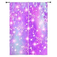 purple sparkle curtains